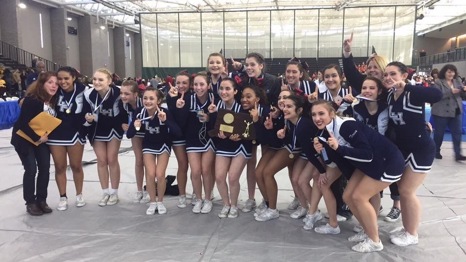 Cheerleaders Are State Champs!