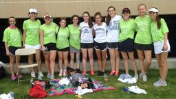 LH Tennis Volunteers at Special Olympics