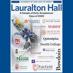 Lauralton Announces Early College Acceptances